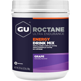 GU Energy Roctane Ultra Endurance Energiajuoma sekoitus purkki 780g, Grape